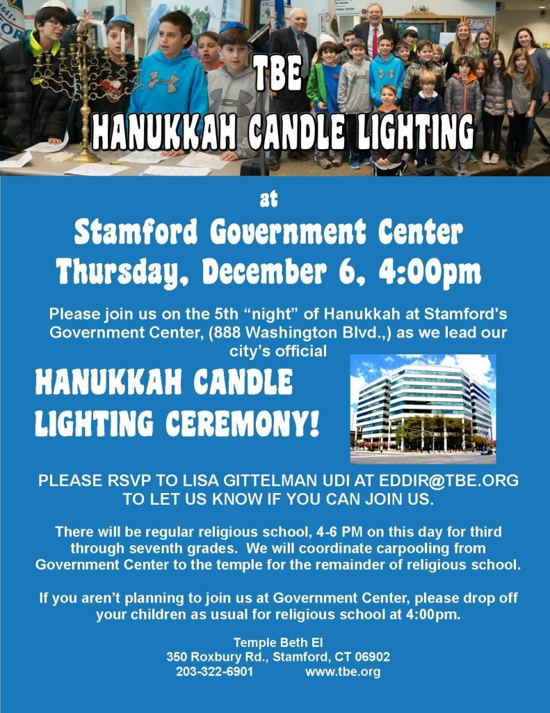 Candle Lighting @ Government Center @ Stamford Government Center | Stamford | Connecticut | United States