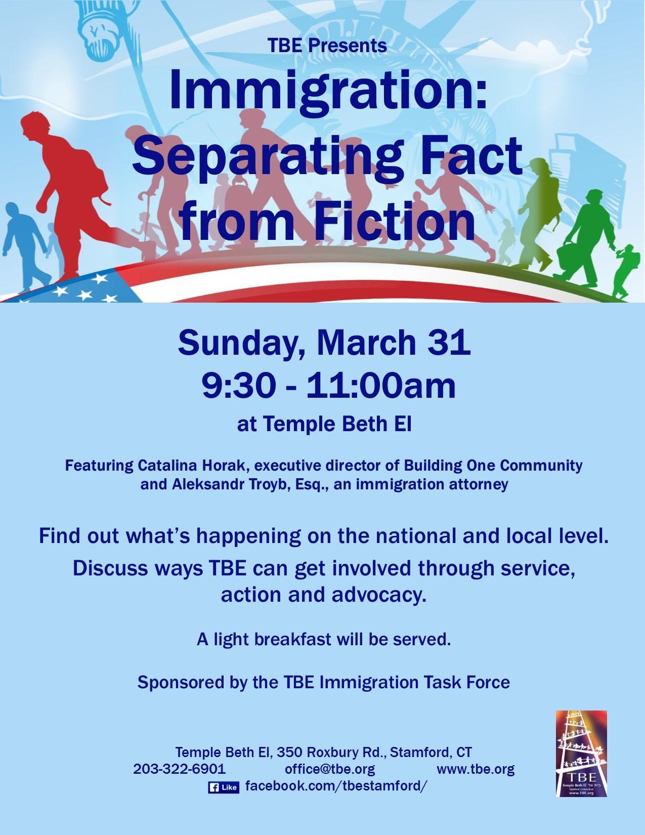 immigration-meeting - Temple Beth El