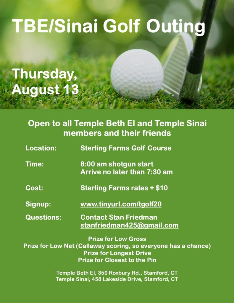 TBE/Sinai Golf Outing @ Sterling Farms Golf Course | Stamford | Connecticut | United States