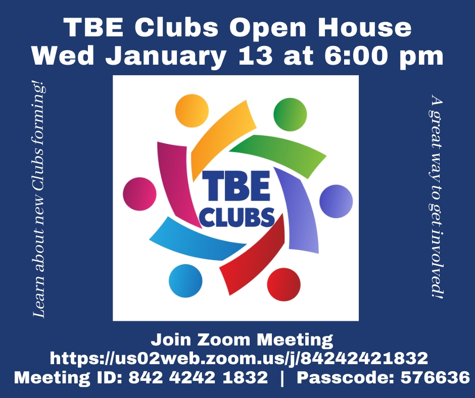 TBE Clubs Open House