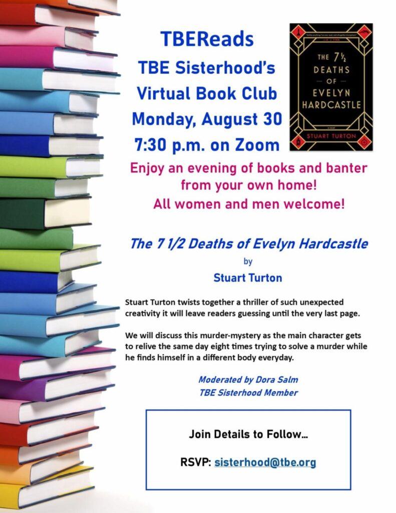 Sisterhood Book Club @ via Zoom