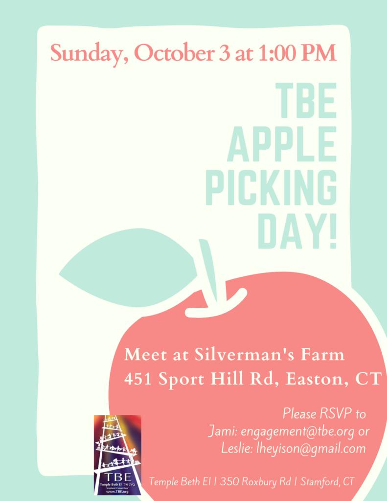 TBE Apple Picking Day @ Silverman's Farm