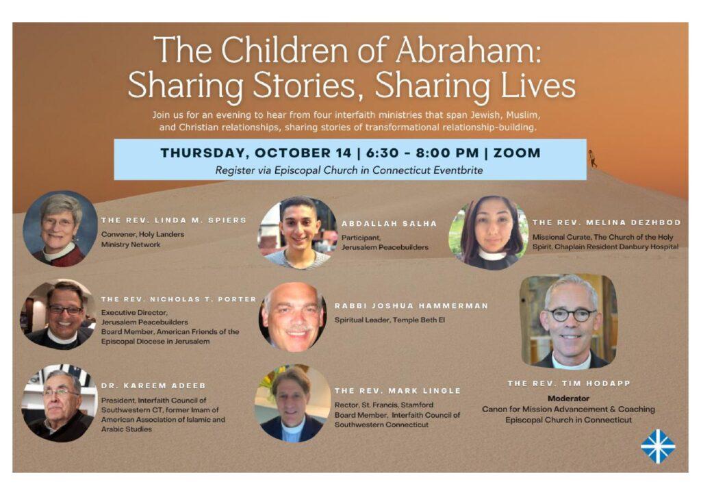 Children of Abraham @ via Zoom